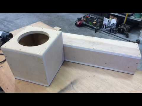 Subwoofer box build for an 8