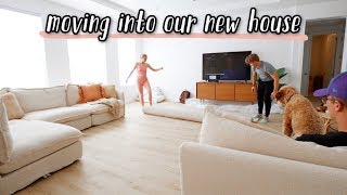 moving into our new house!!