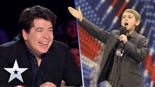 Unforgettable Audition: Can 9-year-old comedian David Knight make Michael McIntyre laugh?