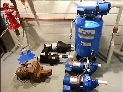Well Jet Pumps and Adjusting Pressure Switches