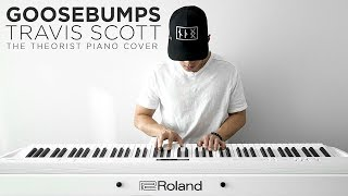 Travis Scott ft. Kendrick Lamar - Goosebumps   The Theorist Piano Cover