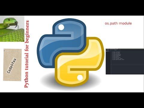Python os.path|os.path in Python|| Python Tutorial #9 || Python Tutorial for Beginners