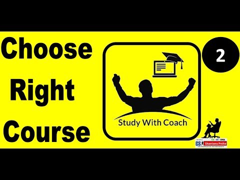 How to Choose Right Course   CA CS CMA Courses & corporate world   SWC - Episode 2