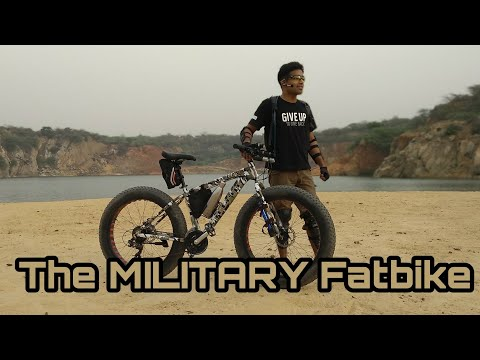 My New Fatbike | Designed for Armed Forces? |  Fittrip Mutant Review