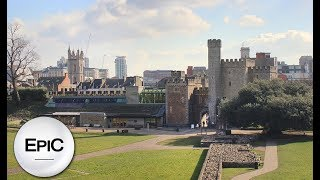 Download Quick City Overview: Cardiff, Wales (HD) Video