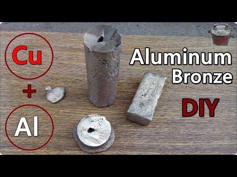DIY Aluminum Bronze. One of the hardest bronzes!