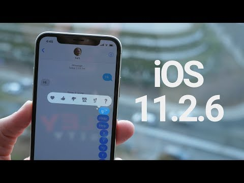 iOS 11.2.6 Update Preview!