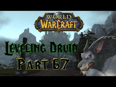World of Warcraft - Leveling Druid Part 67 - Bought my first car and my BDAY ?!