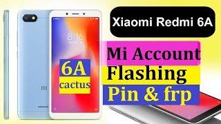 Redmi 6A Mi account/pin/patern/frp/flashing done | Music Jinni
