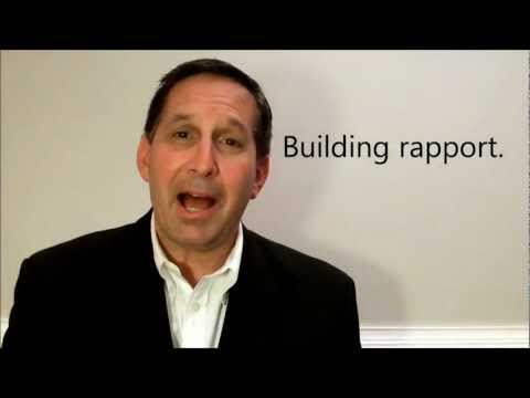 Building Rapport - A Sales Training Lesson