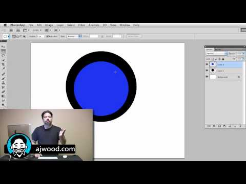 Creating a Circle Logo with Photoshop