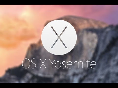 OSX Yosemite / Mac Software Update to the version 10.10