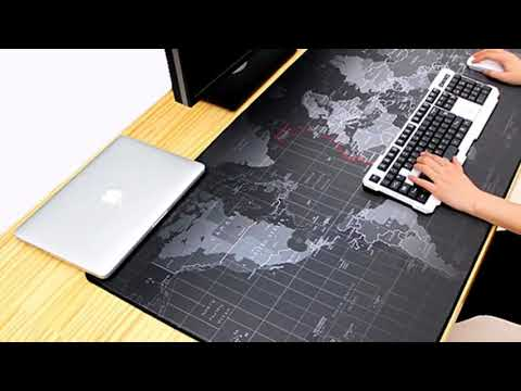 2018 Old World Map Mouse Pad Mouse Pad Large Pad for Mouse etc