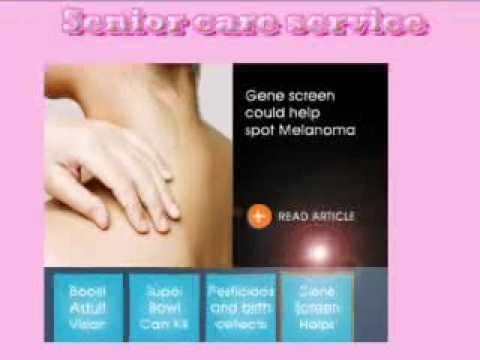 Senior care service optimized