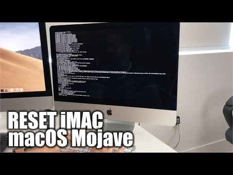 How to Restore Reset a iMac to Factory Settings ║ macOS Mojave