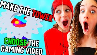 WIN a TOWER to CHOOSE the NEXT GAME ON ROBLOX Gaming w/ The Norris Nuts