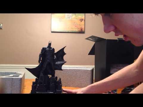 Batman Arkham Knight Limited Edition Gamestop unboxing(PS4)