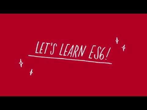 Let's Learn ES6 - Arrays