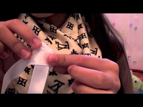 DIY: Flower Ribbon Headband
