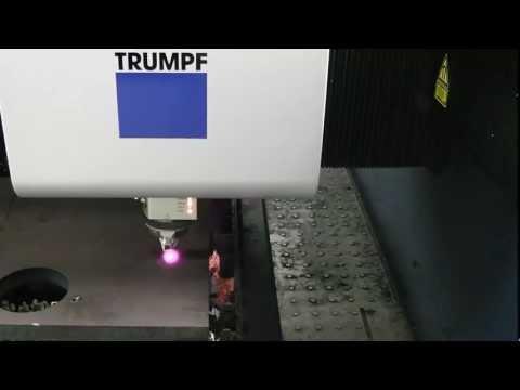 TruLaser 5030 fiber Cutting 1 Inch Thick Plate