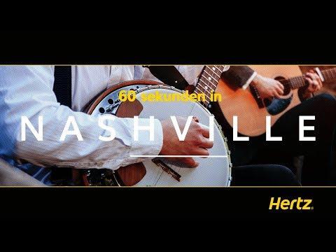 Hertz in 60 Sekunden – Nashville - Ein Wegweiser für die Hauptstadt von Tennessee