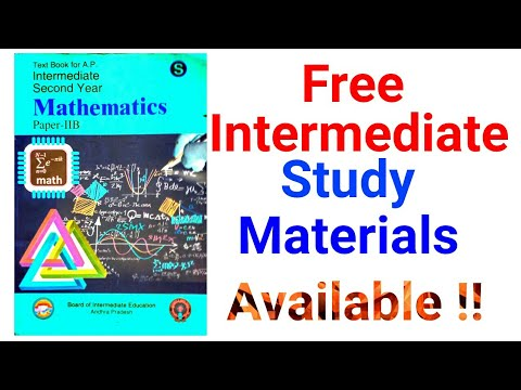Intermediate Free Study materials Here Full Syllabus PDF's By Study center