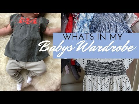 What's In My BABYS WARDROBE/CLOSET   Fleur De Force