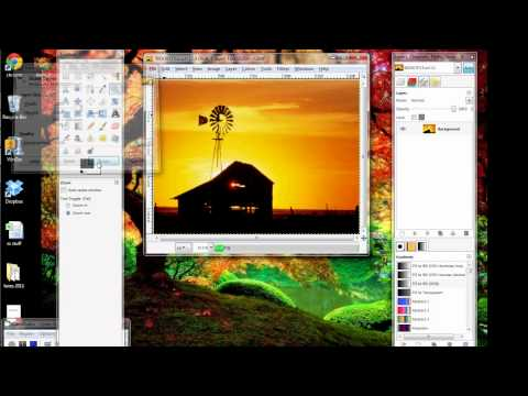 GIMP Tutorial_Making an eBook Cover 1-Resizing.avi