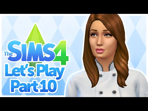 The Sims 4 - 10 (Line Cook)