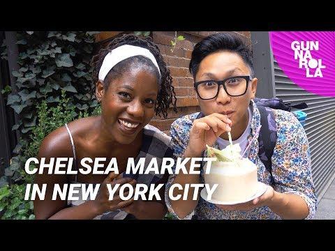New York City Food & Restaurant Guide: Chelsea Market | ft. Oneika The Traveller
