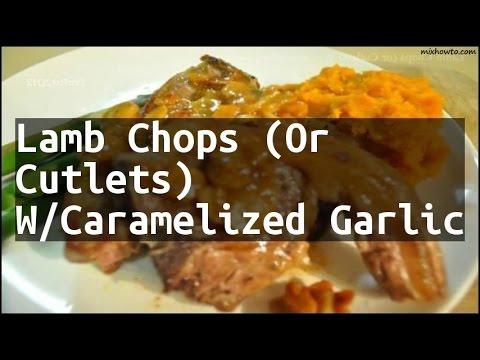 Recipe Lamb cutlets