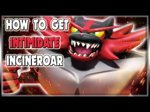 HOW TO GET INTIMIDATE INCINEROAR! | HIDDEN ABILITIES NOW RELEASED!