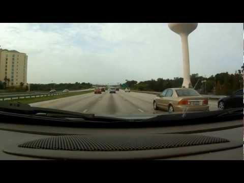 I-4 Traffic I-4 West Interstate 4 West I4 West Sanford to Orlando