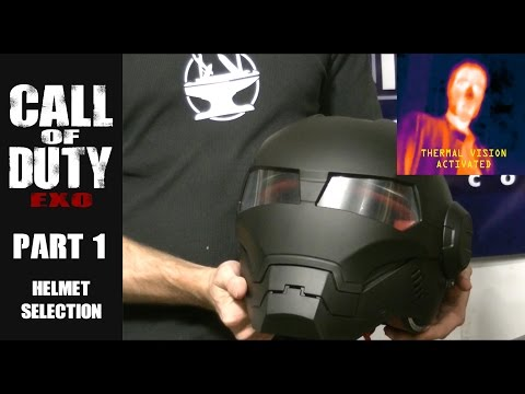 The Helmet w/ Thermal Vision