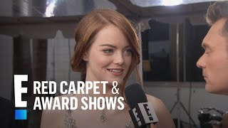 Emma Stone Makes the 2017 Golden Globes a Family Affair   E! Live from the Red Carpet