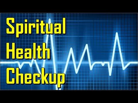Spiritual Health Check Up...