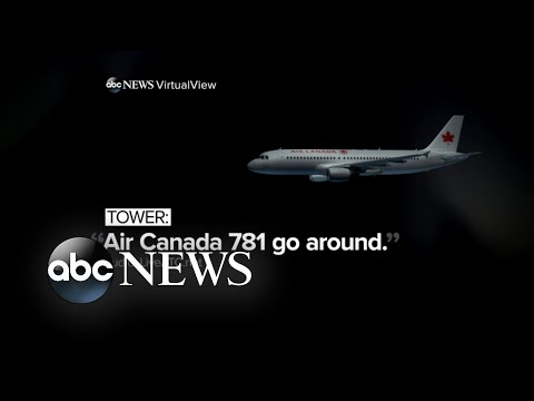 New video shows plane failing to answer calls to abort landing