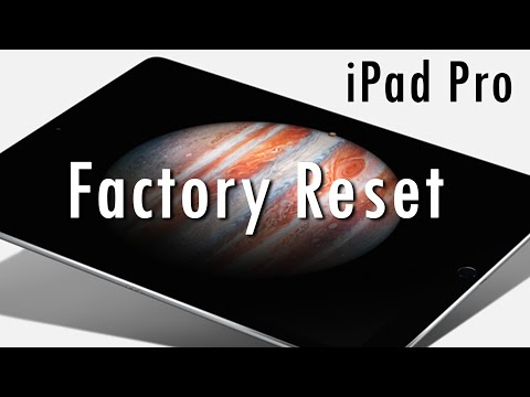 iPad Pro - How to Reset Back to Factory Settings (Hard Reset)​​​ | H2TechVideos​​​