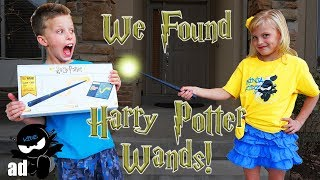 We found Harry Potter Wands! Fun coding MAGIC!