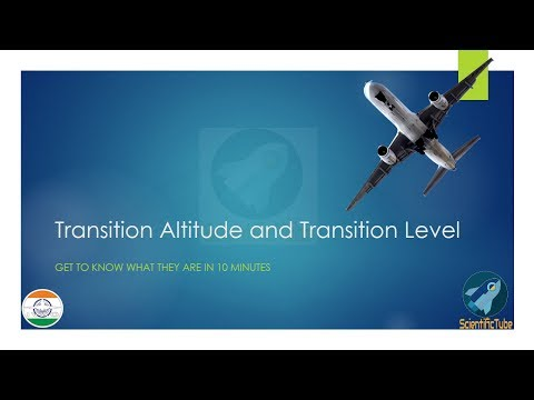 What is Transition Altitude and Transition Level? Explained | Ground School