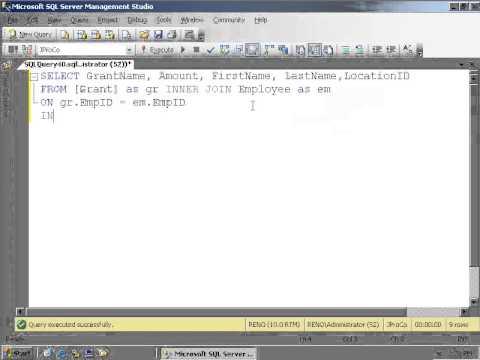 SQL 2012 Three Table Query Lab 2.2