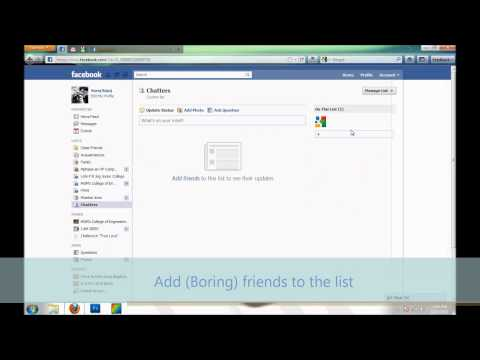 How to make yourself unavailable (Offline) on Facebook chat to only some of your friends (New Way)