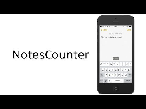 Add a Word Counter to The Notes App | NotesCounter Cydia Tweak Review
