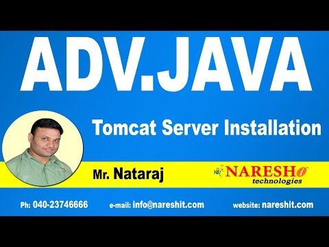 Tomcat Server Installation   Advanced Java Tutorial   Mr. Nataraj