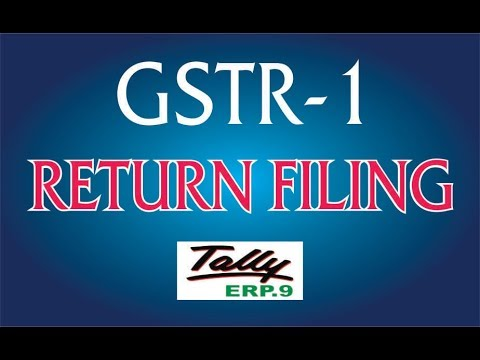 GSTR-1 Filing || How To File GSTR1 Return