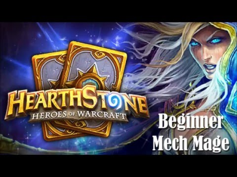 Hearthstone - Beginner Mech Mage Deck (No commentary!)