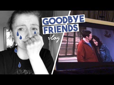 Finishing Friends 😭vlog