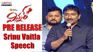 Srinu Vaitla Speech || Winner Movie Pre Release Event || Sai Dharam Tej, Rakul Preet ||