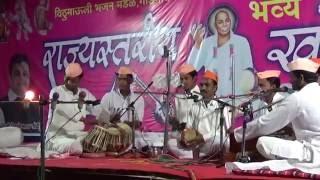 Funny  Expression & Action by Tabalji playing Tabla at Gadegaon Bhajan  spardha
