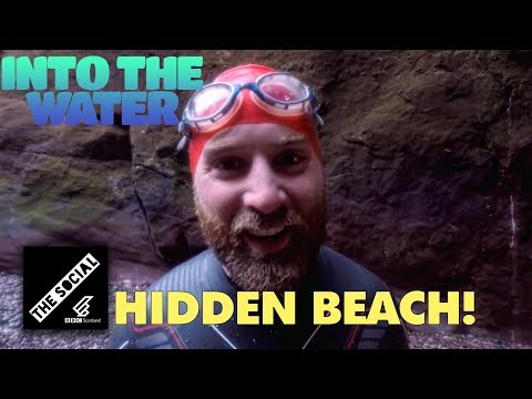 Gaylet Pot Hidden Beach | Into The Water